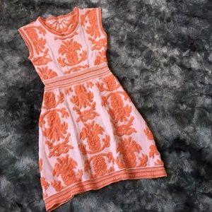 Anthropologie Soft Knit Silk Dress